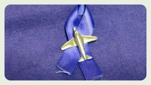 MHS Purple Otter ribbon